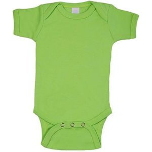 Lime Green Short Sleeve Onezie